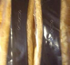Sadelgjord shaped med fårskinn fr Santa Cruz